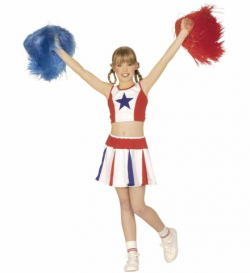 COSTUME ENFANT POMPOM GIRL...