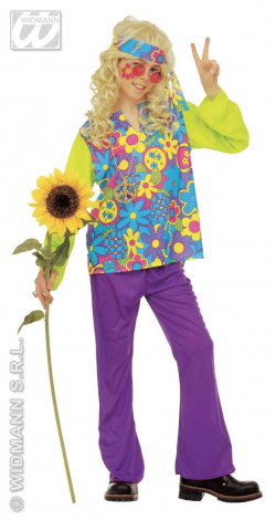 COSTUME ENFANT HIPPIE...