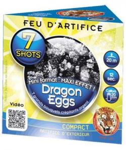 COMPACT DRAGON EGGS 7 SHOTS...