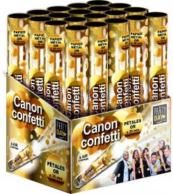 CANON A CONFETTIS 30cm   OR
