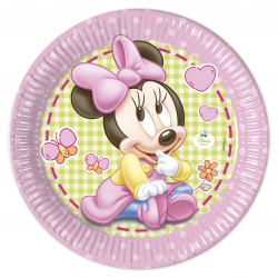 ASSIETTE ø23cm  BABY MINNIE...