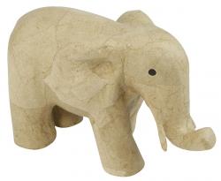 ELEPHANT EN PAPIER MACHE...