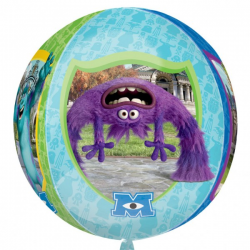 BALLON METAL ROND MONSTER...