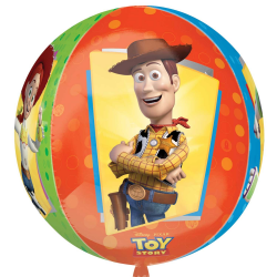 BALLON METAL ROND TOY STORY