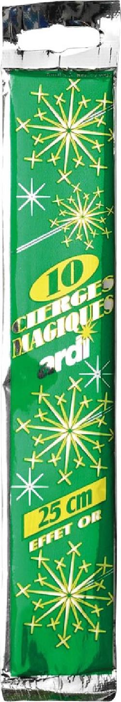CIERGE MAGIQUE 25CM...