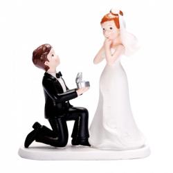 COUPLE DE MARIES H18CM...