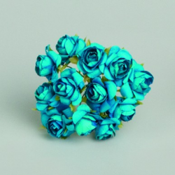 ROSES TURQUOISE/12