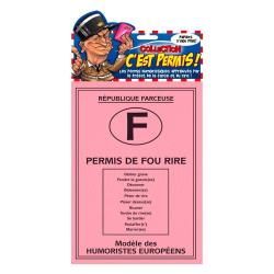 PERMIS DE FOU RIRE