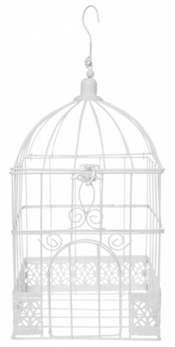 CAGE A OISEAUX URNE MARIES...