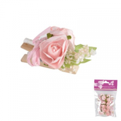 PINCE BOIS ROSES ROSE /6