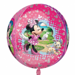 BALLON METAL ROND MINNIE...