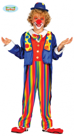 COSTUME ENFANT CLOWN 7/9 ANS