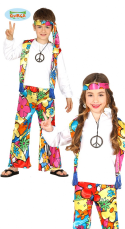 COSTUME ENFANT HIPPIE MIXTE...