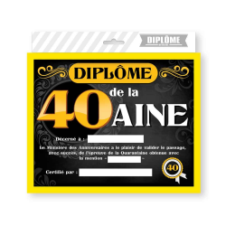 CADRE DIPLOME 40aine HOMME
