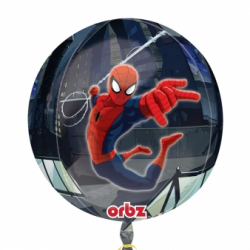 BALLON METAL ROND SPIDERMAN