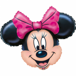 MINI BALLON METAL MINNIE...