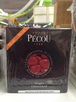 DRAGEE CHOCOLAT M EXTRA ROUGE