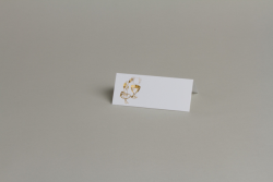 CARTE DE TABLE 10 X 4CM...